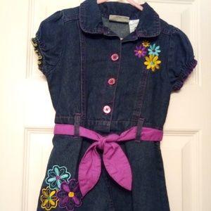 Carter's Denim Dress size 4